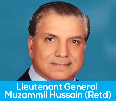 Lieutenant General Muzammil Hussain (Retd)