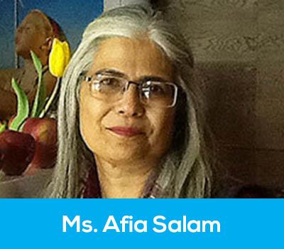 Ms. Afia Salam